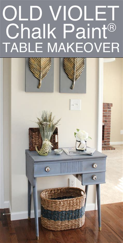 Gray Dining Room Table old violet table makeover how to nest for less