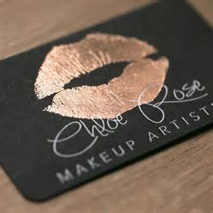makeup artist business name ideas 25 best ideas about makeup business cards on