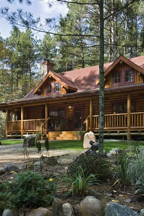 third time s the charm a lakeside log home in minnesota