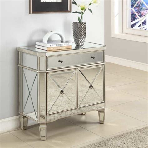 Mirrored Storage Cabinet Furniture Narrow Mirrored Table With Storage Cabinet For Entryway Pretty Narrow Entryway Table