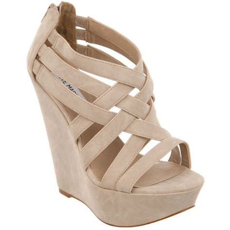 wedges ad 24 steve madden xcess 42 245 clp liked on polyvore