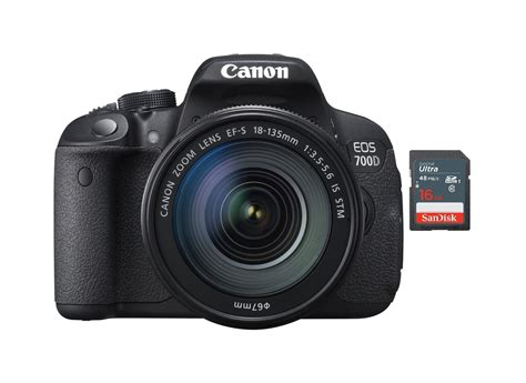 Canon Eos 700d New new canon eos 700d dslr kit with 18 135mm is stm