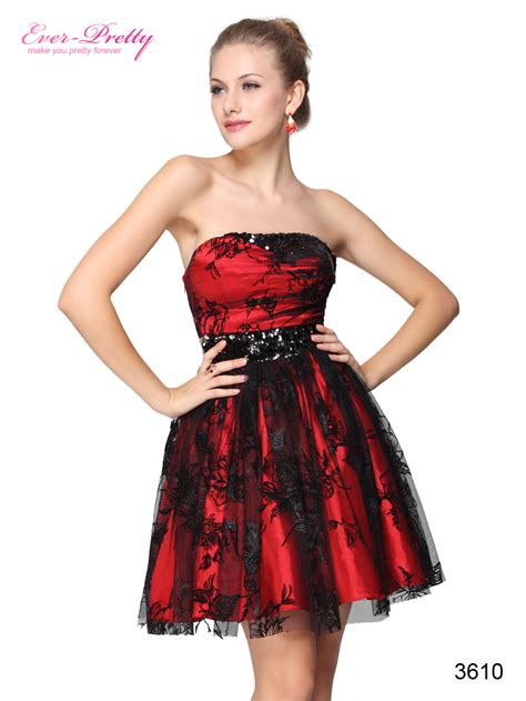 Black And Red Dress   Cocktail Dresses 2016