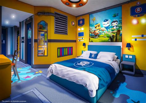 octonauts bedroom full details confirmed for cbeebies land hotel towerstimes