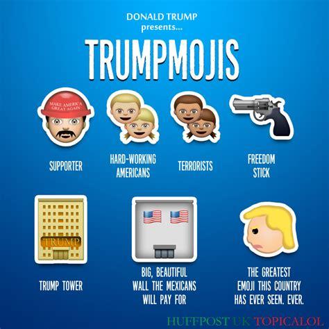 donald trump emoji the gallery for gt funny emoji texts conversations