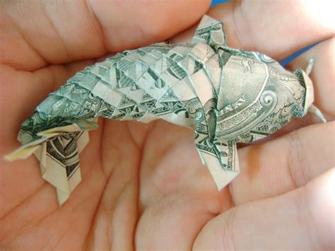 Dollar Origami Fish - origami koi fish made out of a dollar bill pics