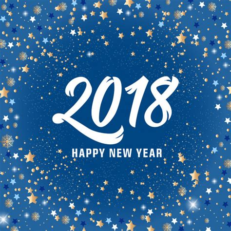 new year 2018 vector happy new year 2018 lettering and vector free