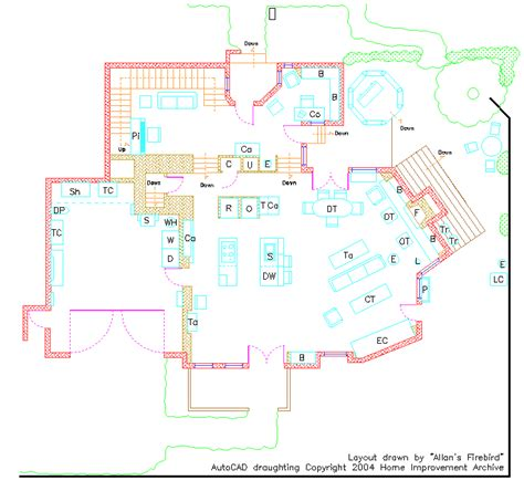 home improvement house floor plan the trek bbs