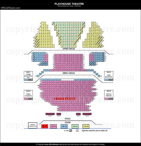 Floor Plan Of Office by Playhouse Theatre London Seat Map And Prices For The Best Man