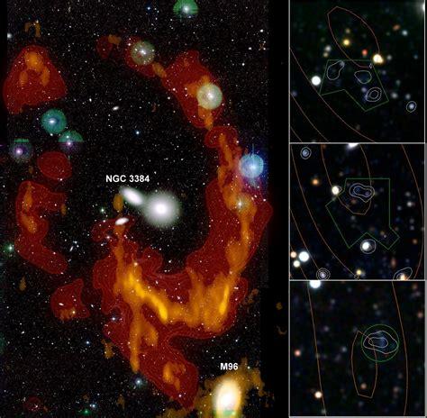 Leo Ring de leo ring veroorzaakt door galactische botsing