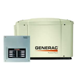 generac 7 000 watt air cooled automatic standby generator