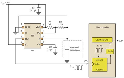 capacitor measurement circuit gt circuits gt use analog techniques to measure capacitance in capacitive sensors l25515 next gr