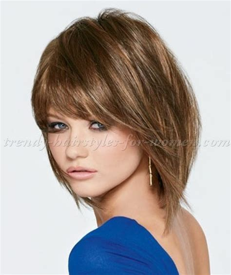 shoulder length haircuts with bangs 161 best medium hairstyles images on pinterest