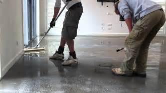 Applying Epoxy Resin onto Concrete Flooring 2nd Coat   YouTube