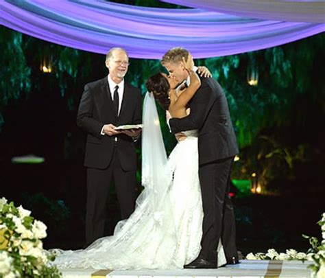 sean and catherine bachelor wedding sean lowe catherine giudici get married