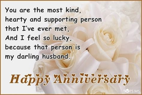 Wedding Anniversary Wishes To Husband by Anniversary Wishes For Husband Quotes Messages Images
