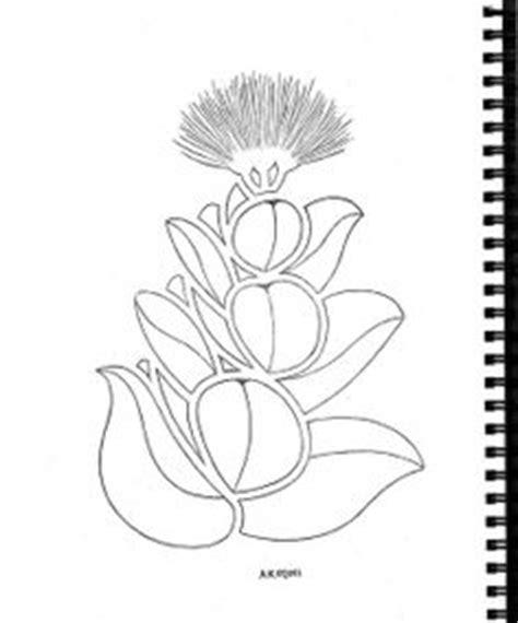 lehua flower clip art 51