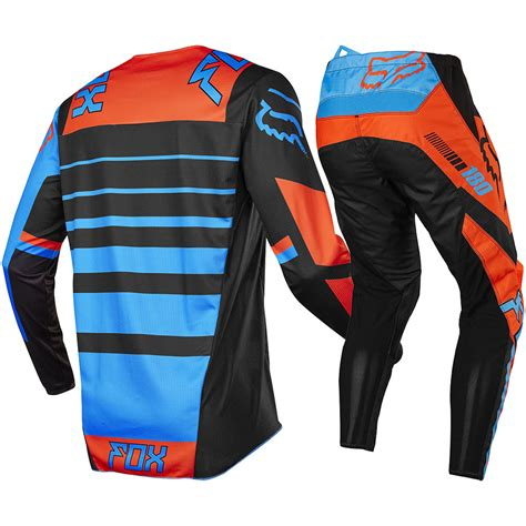 fox motocross gear for kids fox racing 2017 kids mx new 180 falcon black orange youth