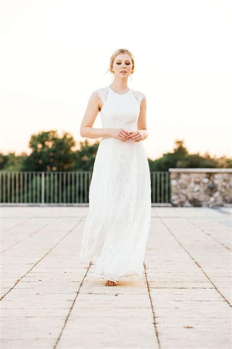 Brautkleider Im Vintage Stil brautkleid vintage stil mit transparentem r 252 cken und