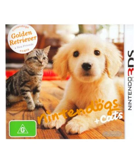nintendo dogs buy nintendo dogs cat golden retriever 3ds ntsc at best price in india
