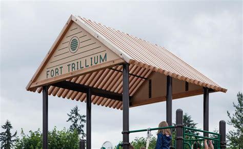 trellis with roof playground equipment