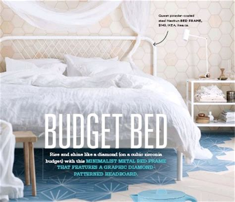 Bed With Headboard pressreader style at home 2016 07 01 bud 173 get bed