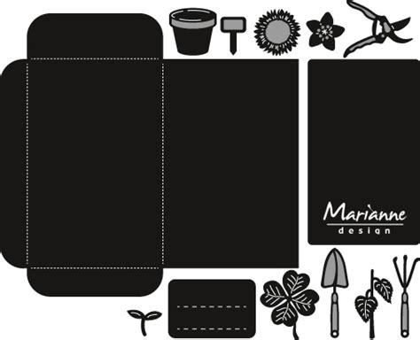 Design Garden crafts too ltd marianne design craftable seed pocket