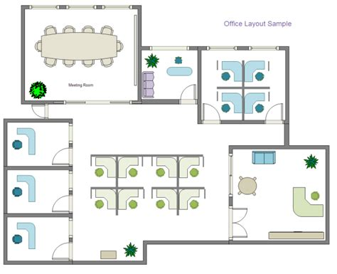 Office Layout Design Template | office layout free office layout templates