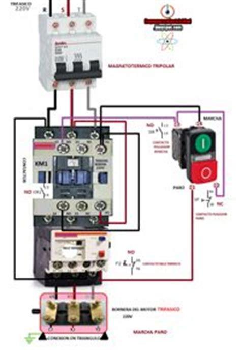 foto contactor trifasico  marcha paro pulsador marcha