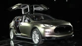 Electric Car Tesla Model X Electric Car Tesla Motors