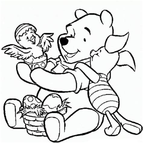 Free Coloring Sheets Easter L