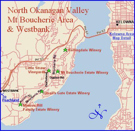 printable map kelowna map page bc wine regions north okanagan valley wineries