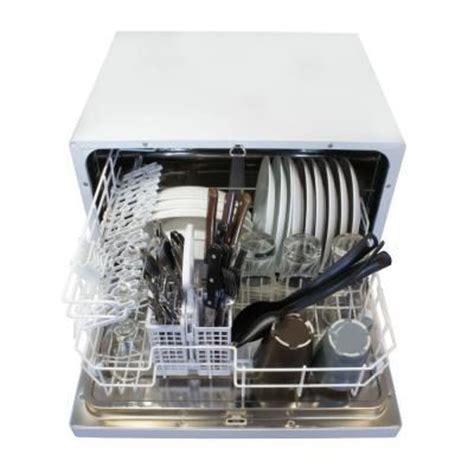 Spt Countertop Dishwasher White by