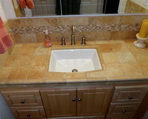 Tiled Bathroom Vanity Tops Project Gallery