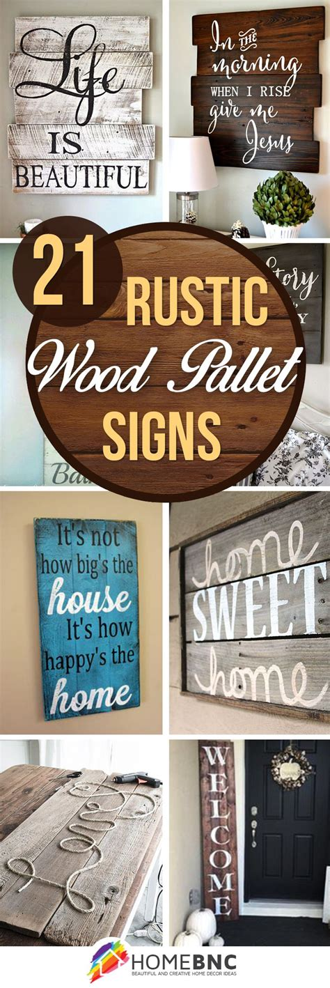 how to make home decor signs best 25 rustic wood crafts ideas on pinterest rustic