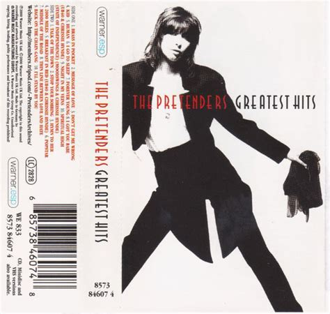 best of the pretenders the pretenders greatest hits cassette germany 2000