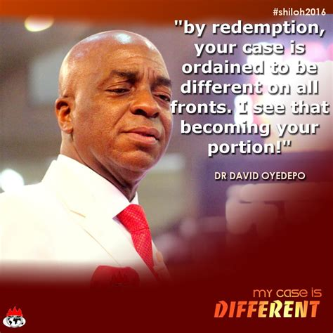 biography of oyedepo quotes from pastor david oyedepo during shiloh2016 day