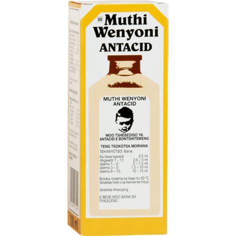 An Muthi muthi wenyoni antacid 100ml clicks