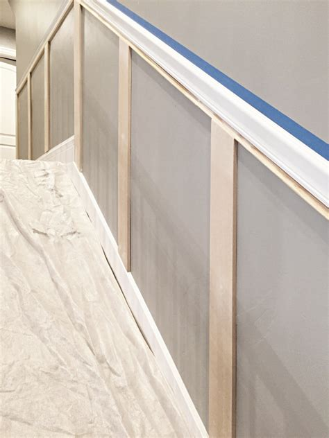 how high should chair rail molding be staircase makeover how to install molding remington avenue