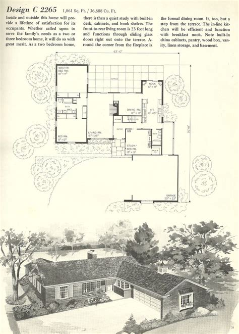 canadian house plans ranch style arts 1960 bungalow newest