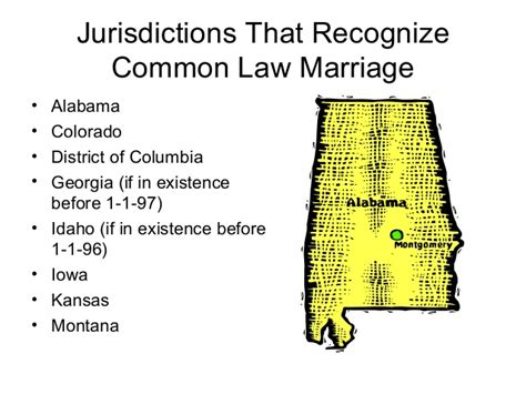 Colorado common law marriage state of montana