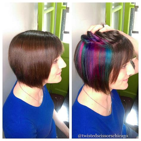 peekaboo color image result for peek a boo color bob hair