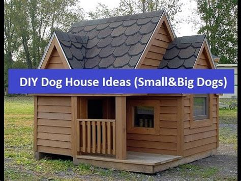 big dog house ideas cheap diy dog house ideas for small and big dogs youtube