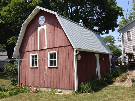 Gambrel Roofs by Pro Rib Steel Gambrel Roof Barn Edgerton Ohio