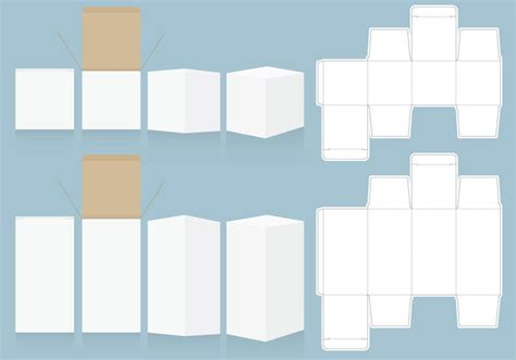packaging box templates