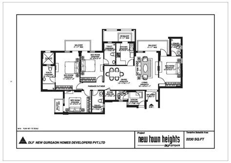 dlf new town heights sector 90 floor plan dlf new town heights sector 86 90 91 gurgaon