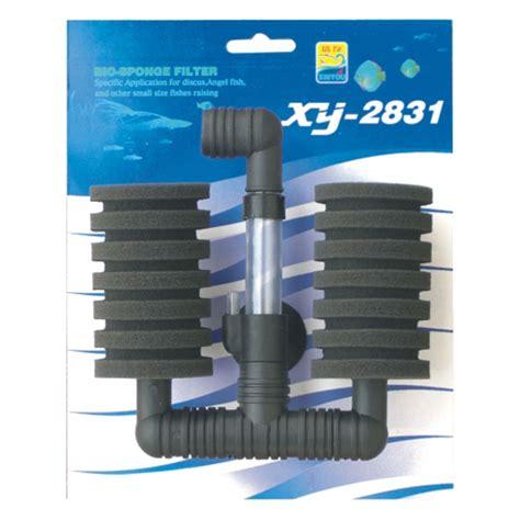 air filter xinyou xy 2831 bio sponge filter