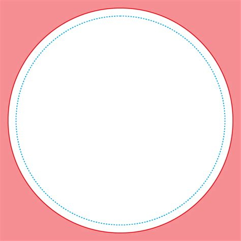 circle card template circle deck