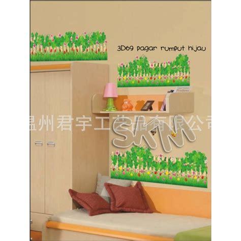 Wallpaper Hijau Wallsticker Hijau wallsticker 3d pagar rumput hijau rp 25 000