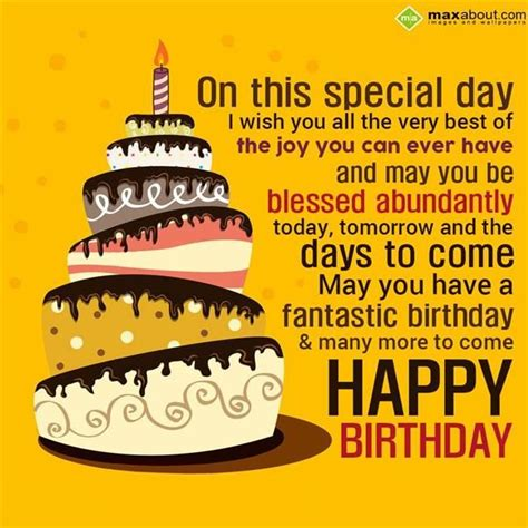 Happy Birthday Wish You Many More To Come 17 Best Images About Happy Birthday On Pinterest